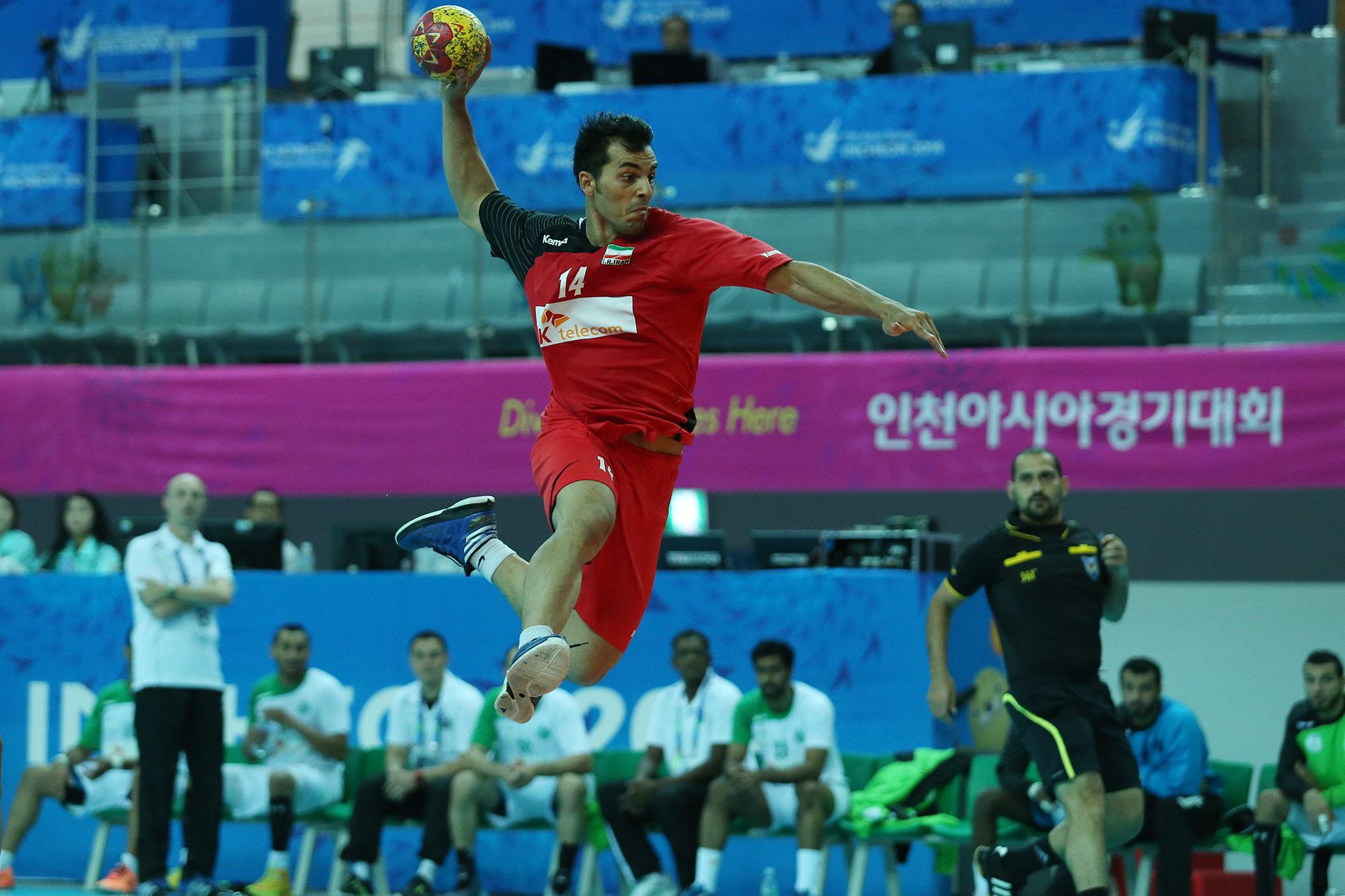 هندبال انتخابی المپیک/جشن صعود ایران با حذف عربستان