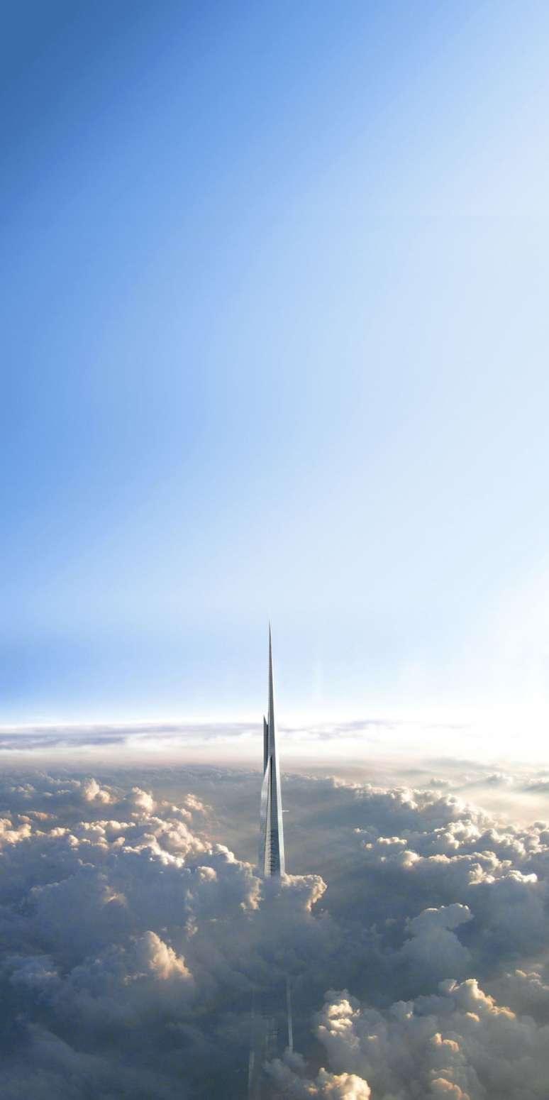 بلندترین برج جهان با ارتفاع یک کیلومتر!