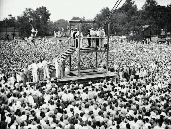 اعدام در ملأ عام در امریکا، ۸۰ سال قبل