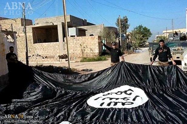بزرگترین پرچم داعش سرنگون شد