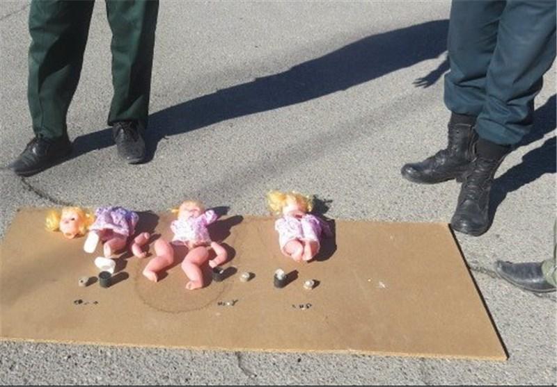 ۳ عروسک بمبگذاریشده در کاشمر شناسایی و خنثیسازی شد