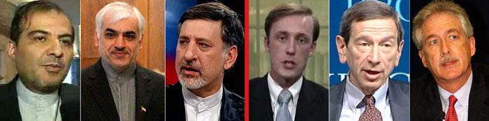 اعضای تیم ایرانی مذاکرات محرمانه با آمریکا در دوران احمدی نژاد
