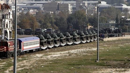 ترکیه 20 دستگاه تانک «ام 60» به مرز سوریه فرستاد