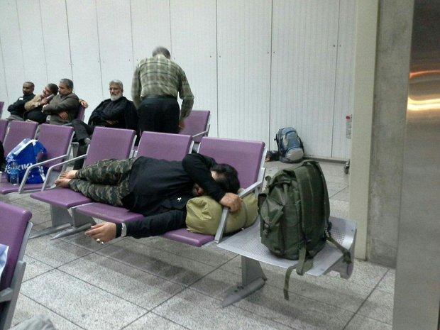 تصادف خودرو کترینگ با هواپیما در فرودگاه امام