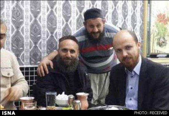 پسر اردوغان در کنار رهبران داعش