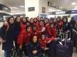 بامداد شنبه؛ پایان سفر پرماجرای تیم دختران به آن سر دنیا