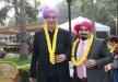 کفاشیان با تیپ هندی در مهمانی AFC + عکس