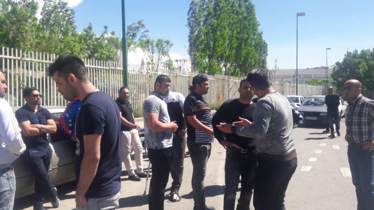 درگیری در تمرین استقلال/حمله به خودروی مجیدی جرو بحث با مظلومی