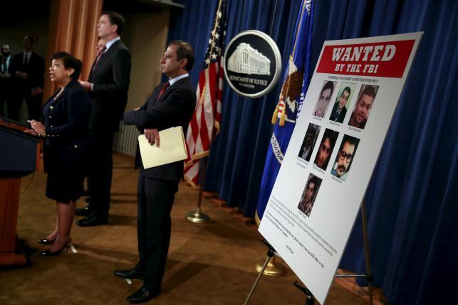 پیگیرد آمریکا برای دستگیری این هفت ایرانی به اتهام حملات سایبری