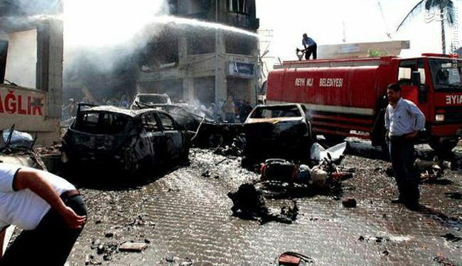 انفجار بمب در مقر نیروهای امنیتی ترکیه
