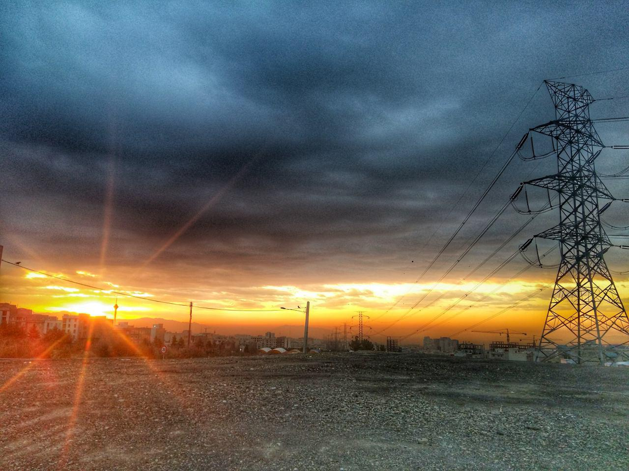 طلوع صبح تهران - جنت آباد