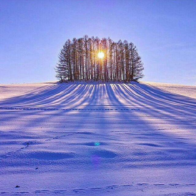طلوع خورشید روستای تاریخی باویل