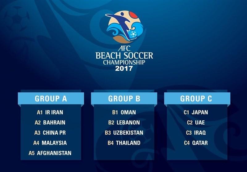 حریفان ایران در قهرمانی آسیا مشخص شدند