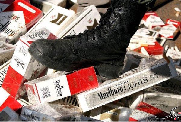 توزیع گسترده کالای دخانی قاچاق در کشور