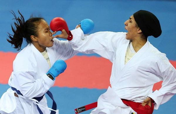 مدالی دیگر از چنگ کاراته کاهای ایران پرید
