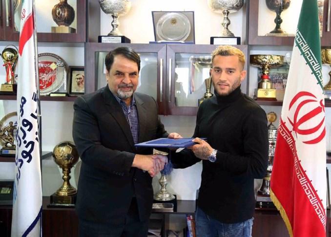 اولین بازیکن افغانی تاریخ لیگ برتر در پیکان