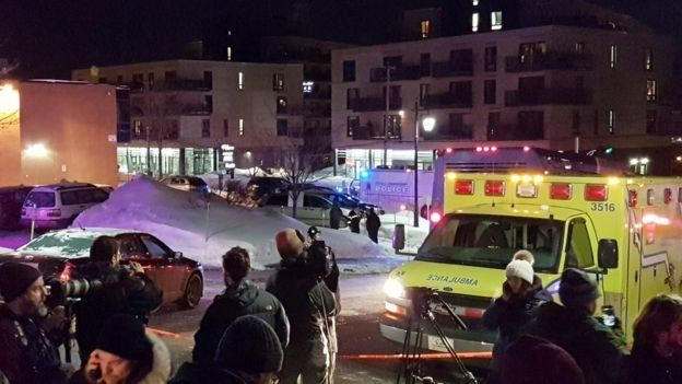 شش کشته در حمله به نمازگزاران در مسجدی در کبک کانادا