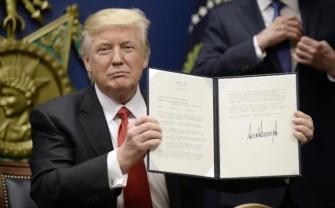 Donald Trump's 'Muslim ban'