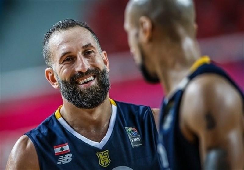 کری کاپیتان بسکتبال لبنان برای فینال با ایرانی ها