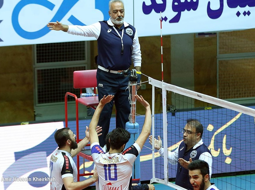 جنجال ویدئوچک در بزرگترین بازی والیبال ایران