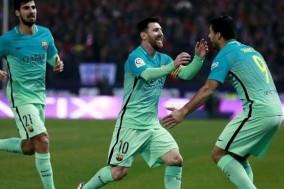 رقابت جذاب اتلتیکو1-بارسلونا2