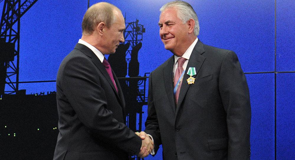 دیدار قریب الوقوع مقامات روس با تیلرسون در آلمان