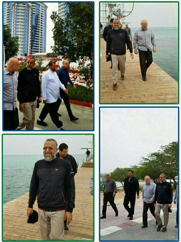 پیاده روی صبحگاهی وزیر اطلاعات در کیش
