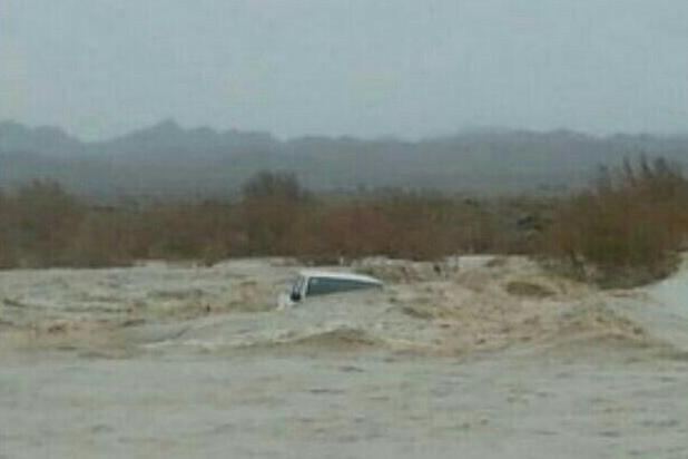طغیان رودخانه ماشکید در مهرستان