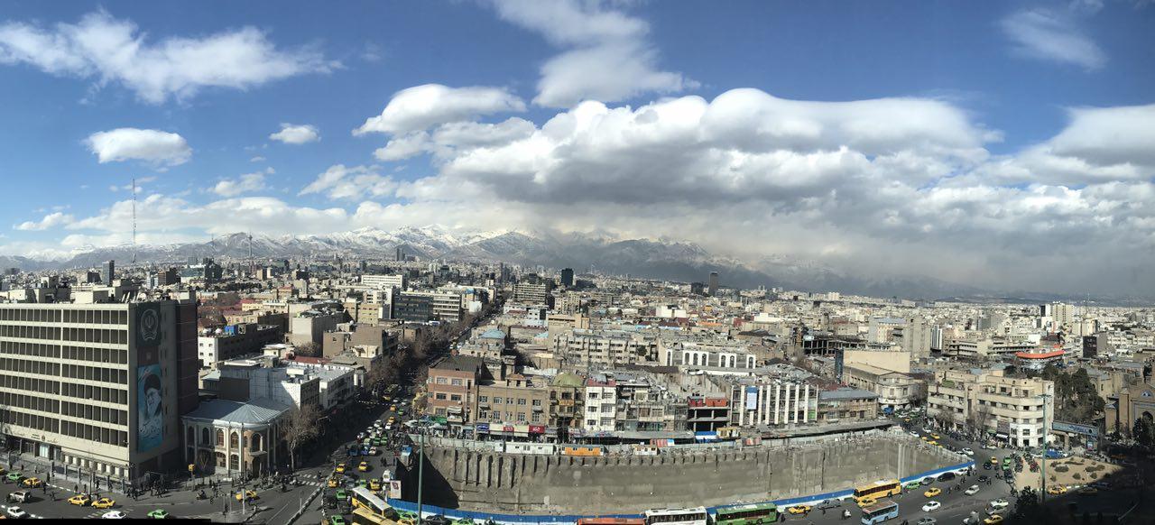 آسمان پاک تهران