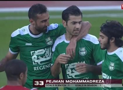 گل مدافع ملی پوش و استقلالی در لیگ قطر