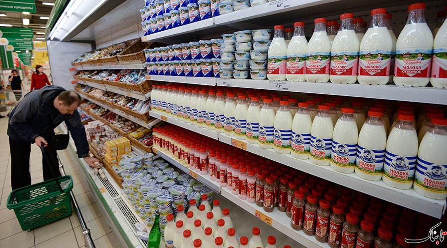 توليد غذا در روسيه به ارزش چهار ميليارد دلار پس از ممنوعيت واردات غرب