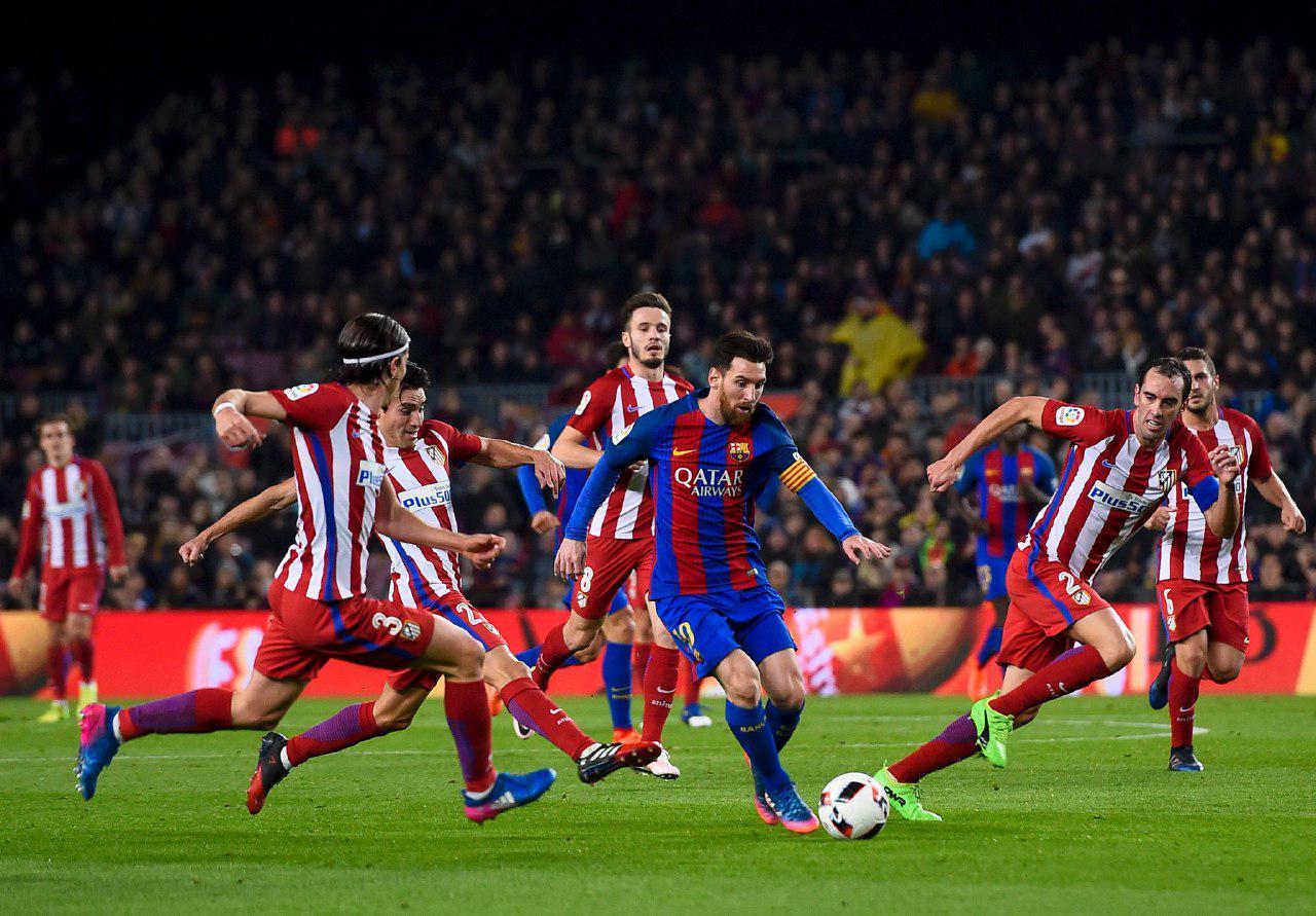 صعود بارسلونابه فینال جام حذفی دریک بازی خشن
