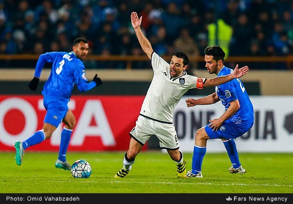 عکس های برگزیده بازی استقلال-السدقطر