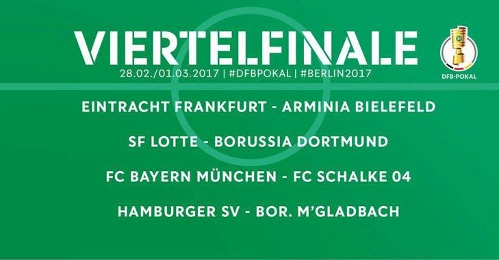 جام حذفی آلمان/ دورتموند به شگفتیساز رسید، بایرن به شالکه