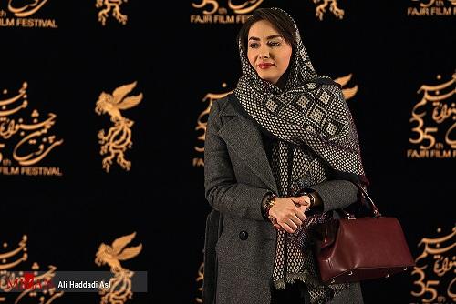 هانیه توسلی در کاخ جشنواره فیلم فجر