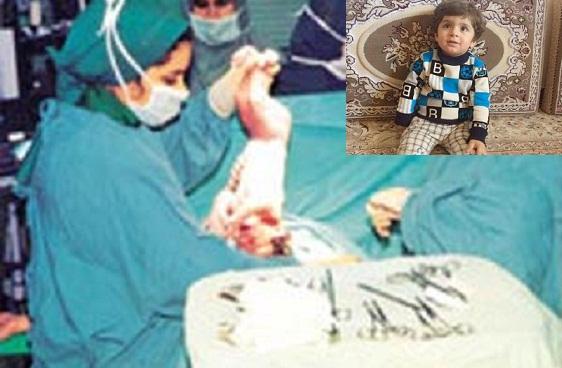 دست نوزادم را فلج کردند و میگویند پزشک تنها 17 درصد قصور کرده!