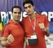 تکواندوی آذربایجان بامربی ایرانی قهرمان اروپاشد