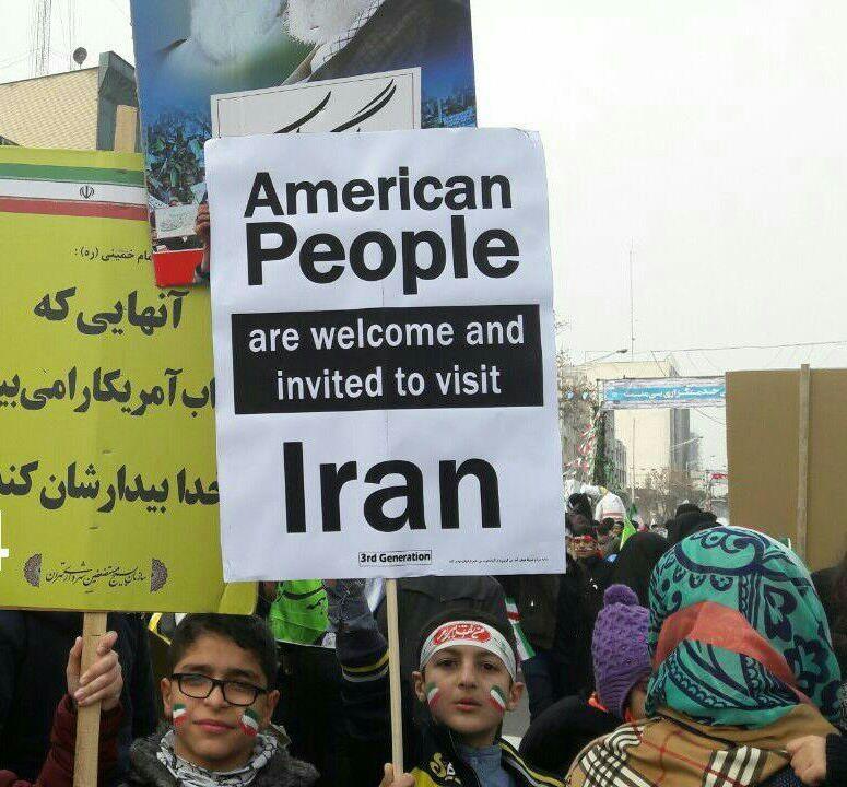 دعوت از مردم آمریکا برای سفر به ایران