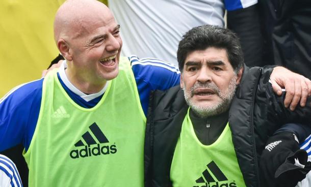 مارادونا بالاخره در فیفا استخدام شد