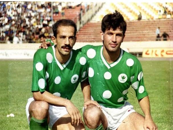 عکس خاطره انگیز از زوج رویایی فوتبال ایران