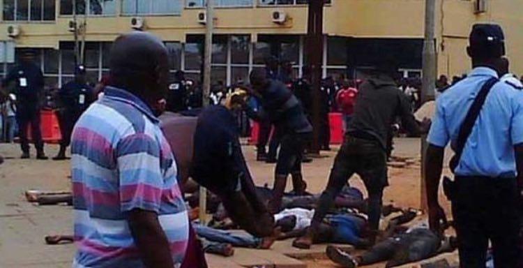 کشتار در روز سیاه فوتبال آنگولا