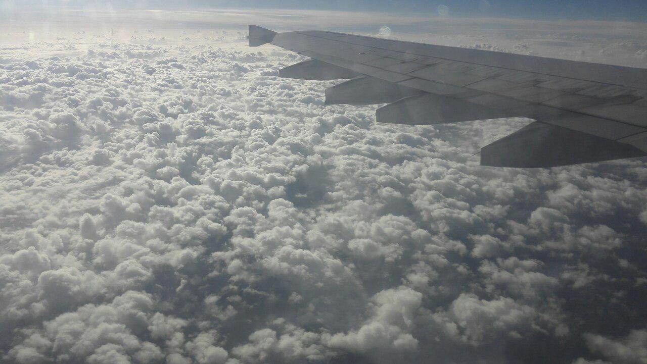 آسمان ایران عسلویه