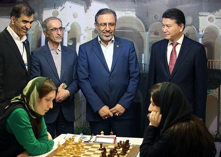 گزارش تصویری از اولین روز مسابقات جهانی شطرنج
