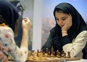 گزارش تصویری از اولین روز مسابقات جهانی شطرنج بانوان