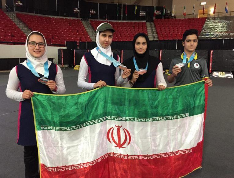 مدال های رنگارنگ نمایندگان ایران در لاس وگاس