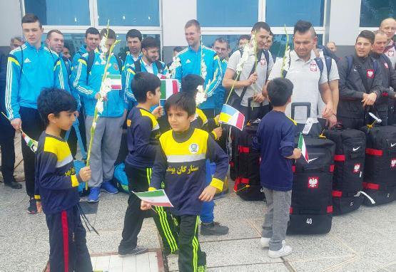 تیمهای اروپایی وارد بوشهر شدند+عکس