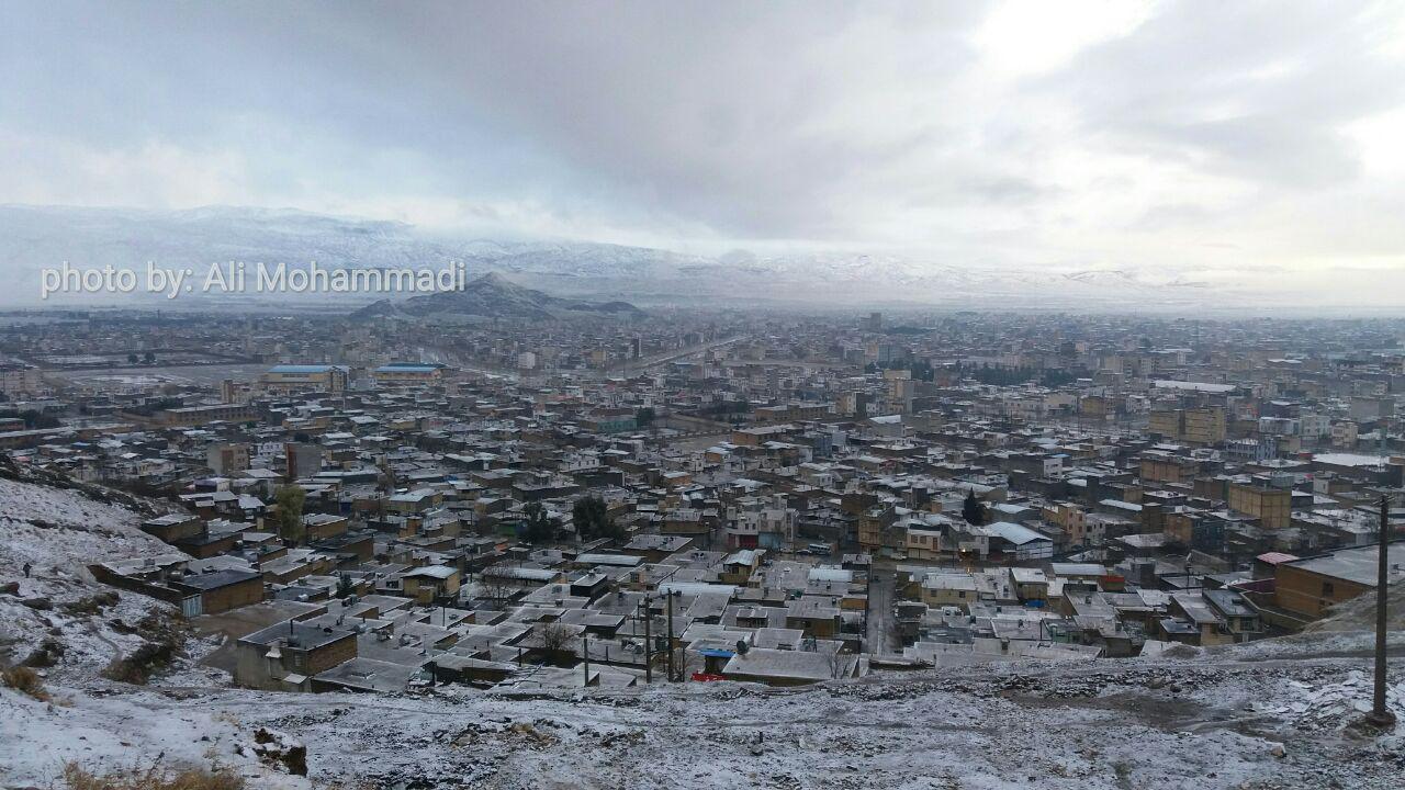 نمایی از شهر خرم آباد، لرستان