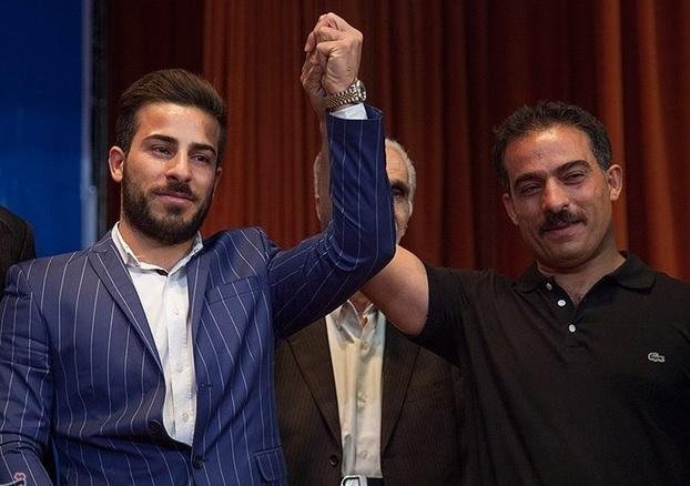 رستمی:وقتی یک ایرانی پشت ایرانی نباشد،شایدبرای کشور دیگری وزنه بزنم
