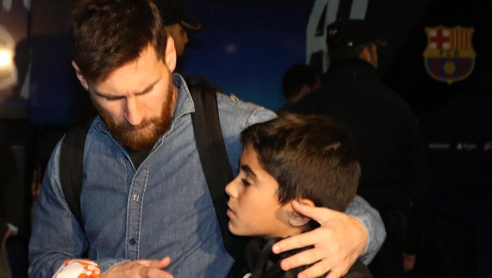 کمک خیرخواهانه مسی به یک مرکز ورزشی