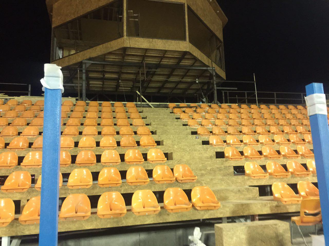 استادیومی که22روزه ساخته شد+عکس